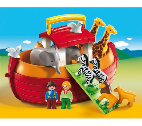 PLAYMOBIL 6765 1.2.3 Take Along Noah's Ark