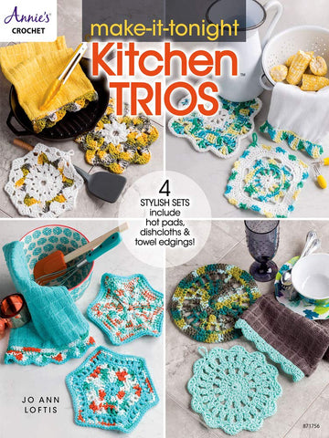 Make-It-Tonight KITCHEN TRIOS book ANNIE'S CROCHET