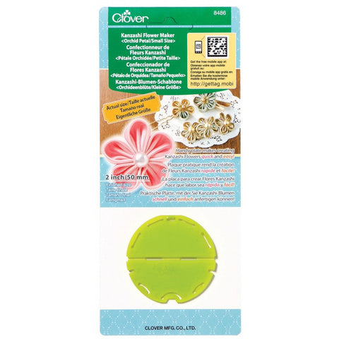 CLOVER Kanzashi flower maker ORCHID small