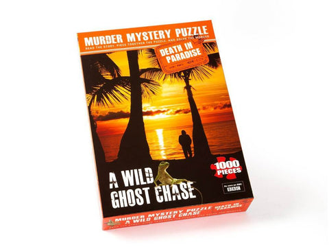 DEATH IN PARADISE A Wild Ghost Chase 1,000pc jigsaw