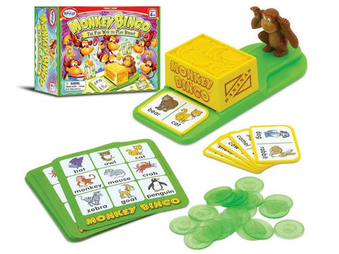 MONKEY BINGO Educational game