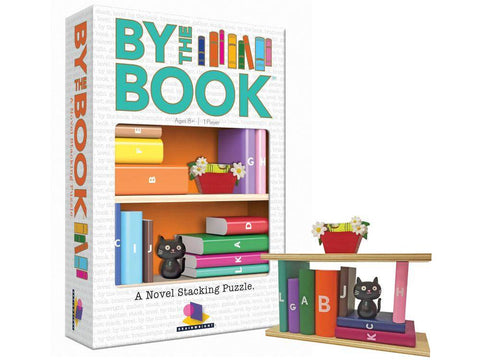 BY THE BOOK Novel Stacking Puzzle by GAMEWRIGHT