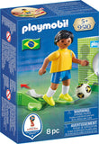 PLAYMOBIL 9510 FIFA WORLD CUP 2018 Football player BRAZIL