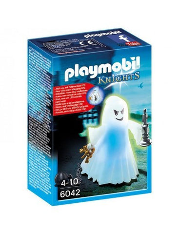 PLAYMOBIL 6042 KNIGHTS Castle Ghost with Rainbow LEDs