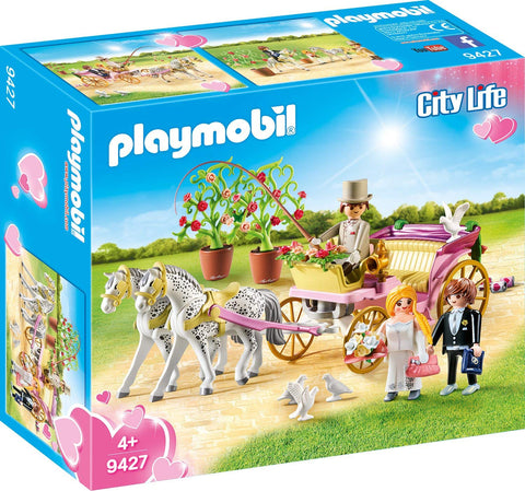 PLAYMOBIL 9427 CITY LIFE Wedding Carriage set