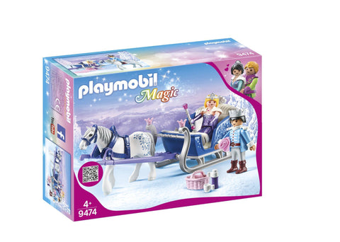 PLAYMOBIL 9474 CRYSTAL PALACE Sleigh with Royal Couple