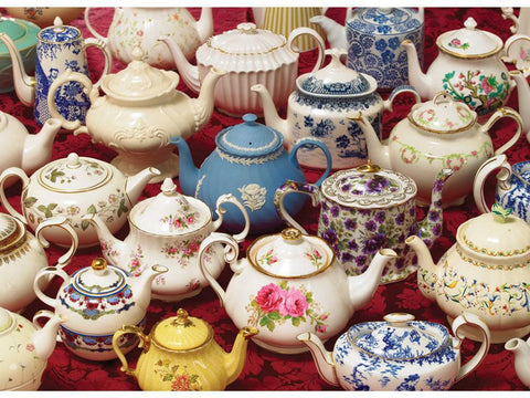 Cobble Hill TEAPOTS 1000pc jigsaw