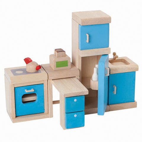 PLAN TOYS 7310 Kitchen Furniture NEO 8pcs