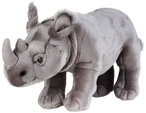 NATIONAL GEOGRAPHIC Rhinoceros 34cm plush