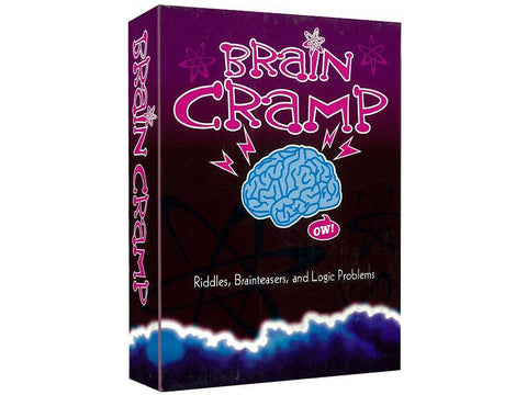 MindTrap BRAIN CRAMP Logic Brainteaser card game