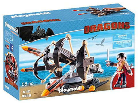 PLAYMOBIL 9249 DRAGONS Eret with Firing Ballista