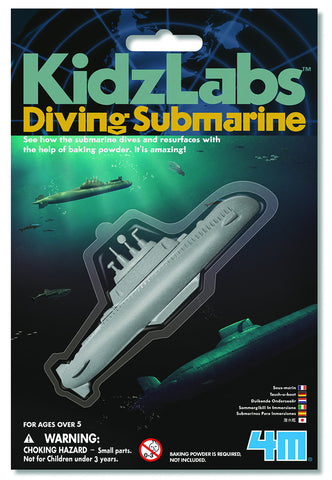 KIDZLABS Diving Submarine toy
