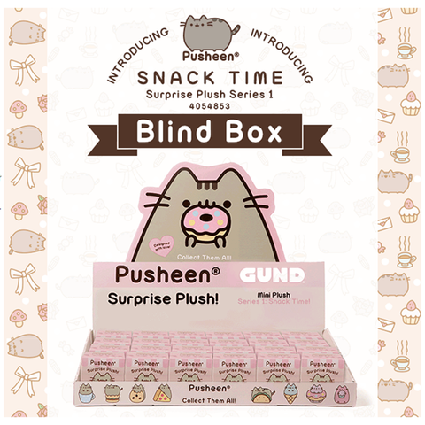 PUSHEEN Blind Box Series 1 SNACK TIME