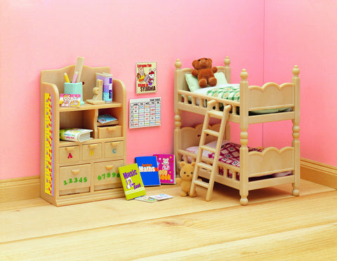 SYLVANIAN 4254 Children's Bedroom Furniture set