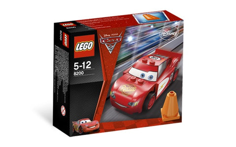 LEGO 8200 CARS Radiator Springs Lightning McQueen