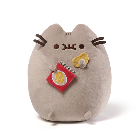 PUSHEEN Eating Potato Chips 24cm