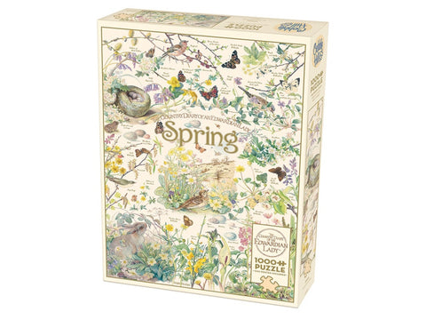 Cobble Hill COUNTRY DIARY OF AN EDWARDIAN LADY: SPRING 1000pc jigsaw