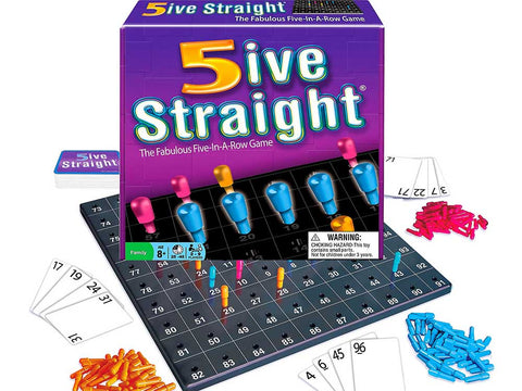 5IVE STRAIGHT Board game