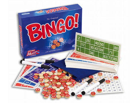 Gibson THE ORIGINAL BINGO game