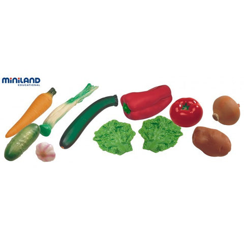 MINILAND Toy Vegetables 11pc set