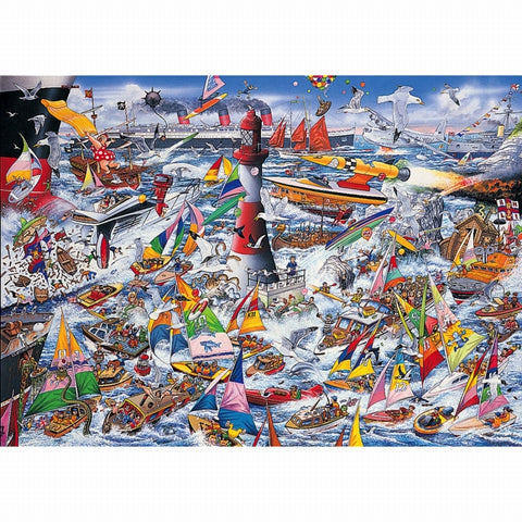 Gibson I LOVE BOATS 1000pc jigsaw