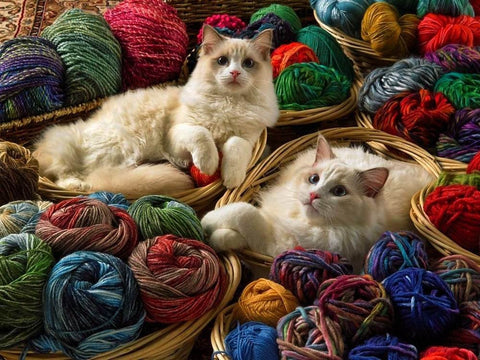 Cobble Hill RAGDOLLS 275 large piece jigsaw