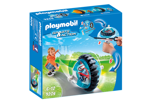 PLAYMOBIL 9204 ACTION Blue Roller Racer
