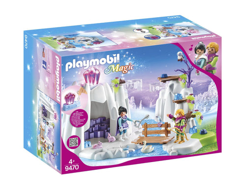 PLAYMOBIL 9470 CRYSTAL PALACE Crystal Diamond Hideout