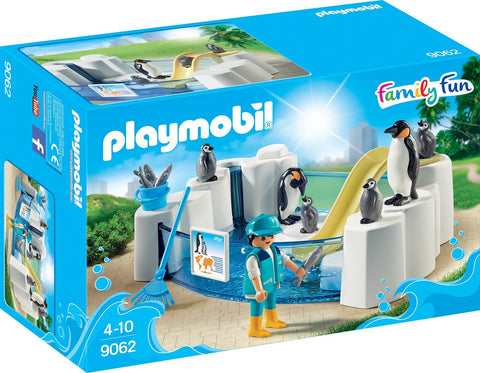 PLAYMOBIL 9062 AQUARIUM Penguin Enclosure