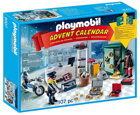 PLAYMOBIL 9007 ADVENT CALENDAR Jewel Thief Police Operation