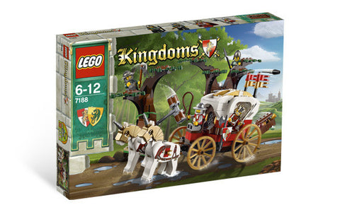 LEGO 7188 KINGDOMS King's Carriage Ambush