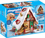 PLAYMOBIL 9493 CHRISTMAS Elf Bakery with Cookie Cutters
