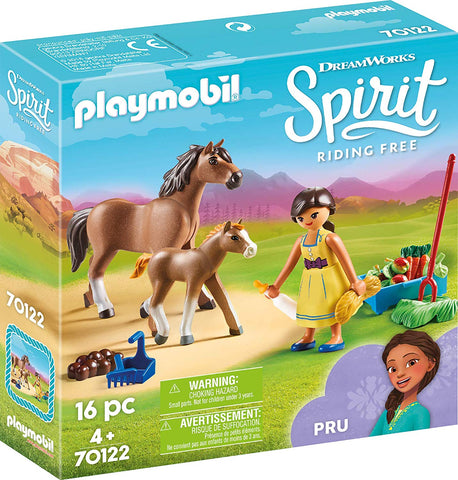 PLAYMOBIL 70122 SPIRIT RIDING FREE Pru with Horse & Foal