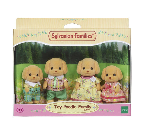 SYLVANIAN 5259 Toy Poodle Family