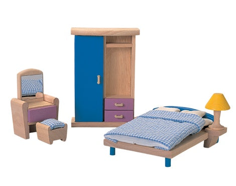 PLAN TOYS 7309 Bedroom Furniture NEO 5pcs