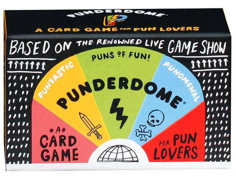 PUNDERDOME Card game for Pun Lovers