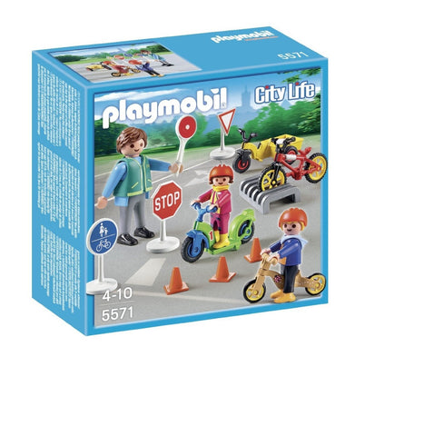 PLAYMOBIL 5571 Children with Crossing Guard