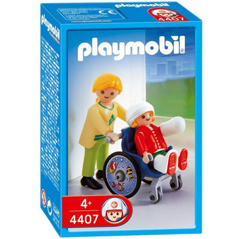 PLAYMOBIL 4407 Child in Wheelchair