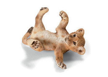 SCHLEICH 14376 Lion cub lying