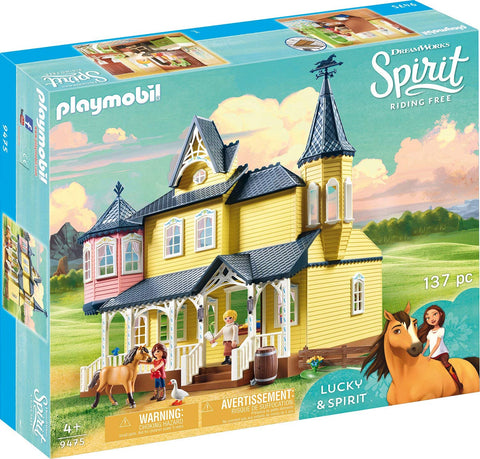 PLAYMOBIL 9475 SPIRIT RIDING FREE Lucky's Happy Home