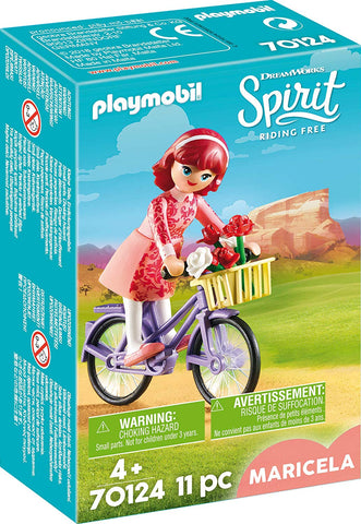 PLAYMOBIL 70124 SPIRIT RIDING FREE Maricela with Bicycle