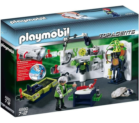 PLAYMOBIL 4880 Top Agents ROBO GANGSTER LABORATORY