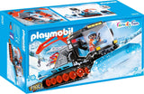 PLAYMOBIL 9500 FAMILY FUN Snow Plough WINTER FUN