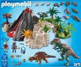 PLAYMOBIL 5230 DINOS Volcano with T-Rex