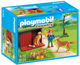 PLAYMOBIL 6134 Golden Retrievers with Toy