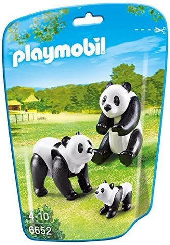 PLAYMOBIL 6652 ZOO Panda Family