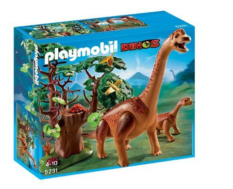 PLAYMOBIL 5231 DINOS Brachiosaurus with Baby