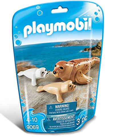 PLAYMOBIL 9069 AQUARIUM Seal with Pups