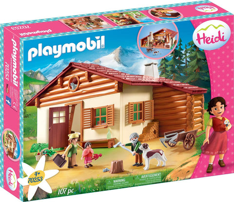 PLAYMOBIL 70253 HEIDI at the Alpine Hut