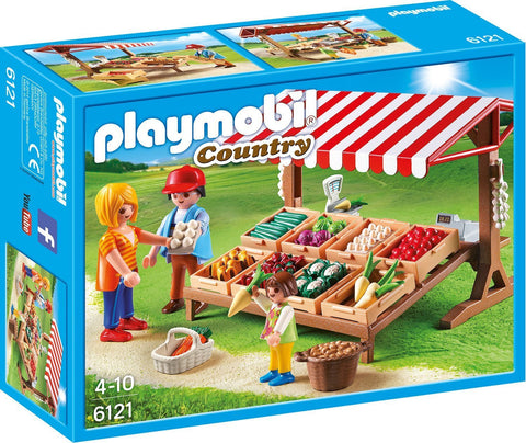 PLAYMOBIL 6121 Farmer's Market set